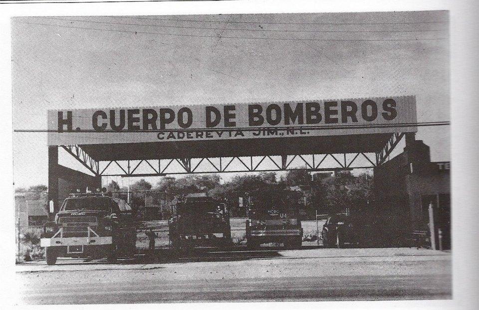 Foto Antigua de Bomberos Cadereyta
