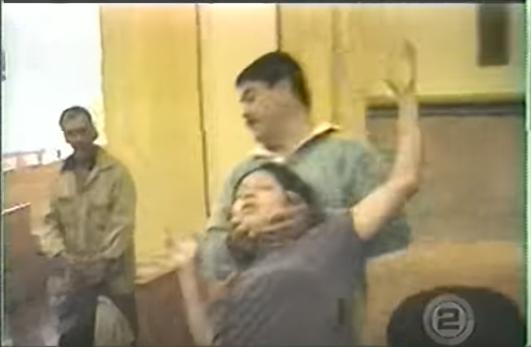 Joven en exorcismo en Caderyeta