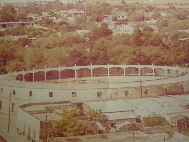 Foto Antigua de la plaza de toros de Cadereyta